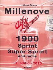 Alfa Romeo millenove 1900-Excelente Libro-sólo Publicado!!!