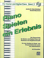 Piano Spielen ein Erlebnis Band 2 mit CD - Rubi-Günthart / Meyersick
