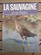 LA SAUVAGINE Chasse n°261 / sept 1985 Le Marquenterre. Lunettes de tir.