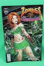 Zombies vs Cheerleaders St. Patty's Day Special Cover B Comic Zenescope VF