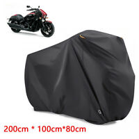 XL Heavy Duty Waterproof Motorcycle Cover Oxford Dustproof Motorbike Shelter UK