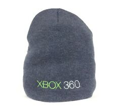 Microsft Xbox 360 Gaming Console Gray Beanie Hat Cap Teen Youth Size