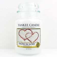 Yankee Candle Duftkerze Snow In Love Housewarmer 625 Gramm