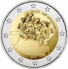 Malta  2€ 2013 FDC   Self Government