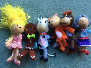 Child's finger puppets.