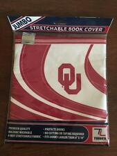 NEW Stretchable Book Cover OKLAHOMA SOONERS Turner Sports Textbook