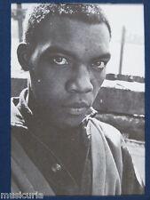 "3.5 x 5"" clipframe with vintage photo cutting of DESMOND DEKKER , 1970"