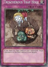 YU-GI-OH: TREACHEROUS TRAP HOLE - LCJW-EN277 - 1st EDITION