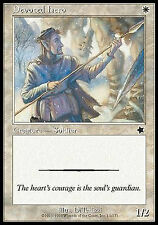 Devoted Hero X4 EX/NM Starter 1999 MTG Magic Cards White Common