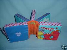 Sesame Street Cloth Book Soft Play 2004 has squeeker