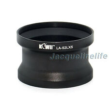 52MM UV CPL FILTERS THREAD LENS ADAPTER TUBE FOR PANASONIC DMC-LX5 LEICA D-LUX5