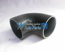 Silicone 90 degree Elbow Hose 3.5 inch / 89mm Black