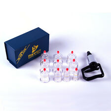 Slimming CUPPING Massage HANSOL SET 10CUPS Acupuncture, Vacuum THERAPY
