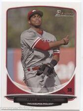 Lot of (200) Trey Williams 2013 Bowman Draft Paper Prospect RC's - Phillies 3B