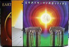 3 VINYL RECORD ALBUM SOUL FUNK LP EARTH WIND & FIRE POWERLIGHT SPIRIT I AM