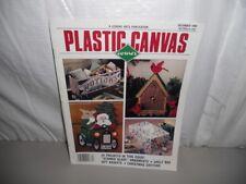 Plastic Canvas Corner magazine December 1990 - 25 projects