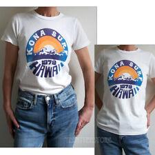 Junk Food Kona Surf Hawaii 1979 Destroyed Finish Tri-Blend Destination T-shirt