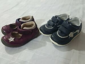 Clarks+ Star Rite baby girls shoes size 4 infant