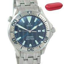 Omega Seamaster Professional 300M Electric Blue Quartz 41mm Watch 2065.80.00