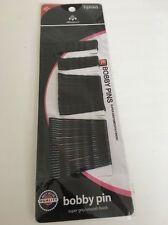 BEST 75Pcs BOBBY KIRBY Nero Capelli Pin Grip Clip Ondulato Salon Styling diapositive