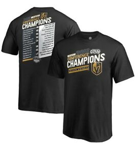 Vegas Golden Knights Youth T-Shirt  Conference champions logo
