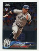 2018 Topps Chrome Update CLINT FRAZIER Rookie Card RC #HMT21 New York Yankees