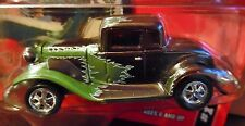 JOHNNY LIGHTNING 32 1932 FORD COUPE CAR CRAFT MAGAZINE COLLECTIBLE CAR BROWN