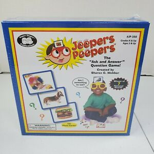 Jeepers Peepers A Question and Answer Game ages 5 and up