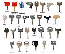 30 keys Construction Ignition/Heavy Equipment Key Set CAT Kubota Deere JCB Volvo