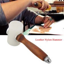 T Shape Maillet de sculpture en cuir DIY Marteau poignée nylon sculpteur outil