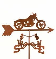 Harley Motorcycle Weathervane - Motorcycles Motor Bike Vane w/ Choice of Mount