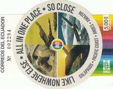 281786 / Ecuador ** MNH Block Fauna Schildkröte Vogel Galapagos