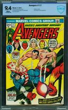 AVENGERS 117 CGC CBCS NM 9.4 WP AMAZING SPIDERMAN 1 COMIC HULK THOR IRONMAN XMEN