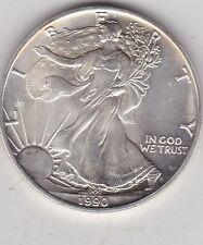 EE. UU. 1 onzas 1990 Silver Eagle en cerca de nuevo, sin usar
