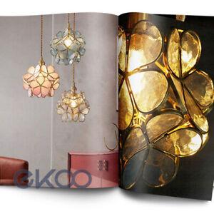 Artistic Petal Pendant Light Chandelier Creative Romantic Light Luxury