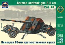 ARK MODELS 35006  GERMAN ANTITANK GUN 8.8CM PAK 43 WWII MODEL KIT 1/35 NEW