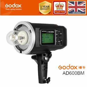 UK Godox AD600BM Bowens Mount 600Ws GN87 High Speed Sync Outdoor Flash Strobe