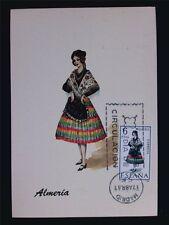 Briefmarken Diverse Philatelie Spain Mk 1969 Costumes Spanien Trachten Maximumkarte Maximum Card Mc Cm A8674