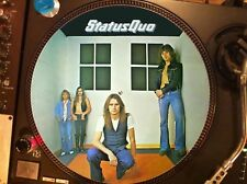 "STATUS QUO-I Saw The Light Rare 12"" Picture Disc Promo Single LP (On The Level)"