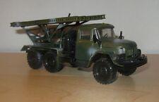1/43 ZIL-131 BM-13-16 Katyusha model truck Soviet Russian Army USSR military