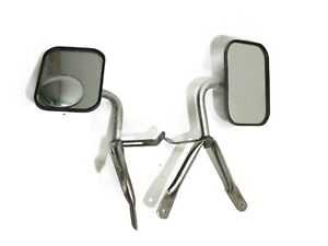Jeep J Series J10 J20 74-88 Aftermarket Side View Mirror Pair Mirrors  FREE SHIP