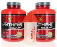 2 Pack BSN Syntha 6 EDGE 7.72 LB Fast & Slow Digesting Protein Powder 96 Serv.