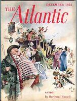 The Atlantic Magazine December 1952 Bertrand Russell GD 043017nonjhe