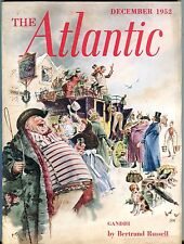 The Atlantic Magazine December 1952 Bertrand Russell GD 043017nonjhe