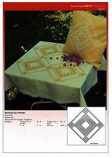 Stickvorlage Blatt 21 Hardangerstickerei