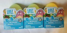 Lost Kitties Sparkle Series Easter Eggs - Lot of 5 - NIB