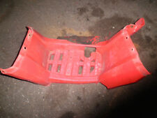 2003 Bombardier 400 Outlander right footwell 1 crack Can am