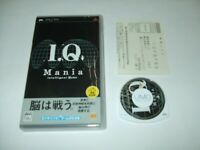 I.Q Mania Sony PSP PlayStation Portable Japan import