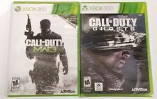 (BUNDLE) Call of Duty Modern Warfare 3 & Call of Duty Ghosts for XBOX 360