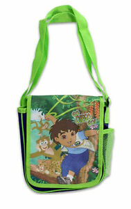 Shoulder Bag Tote Nickelodeon Go Diego Go Animal Rescue Lunch Travel NEW